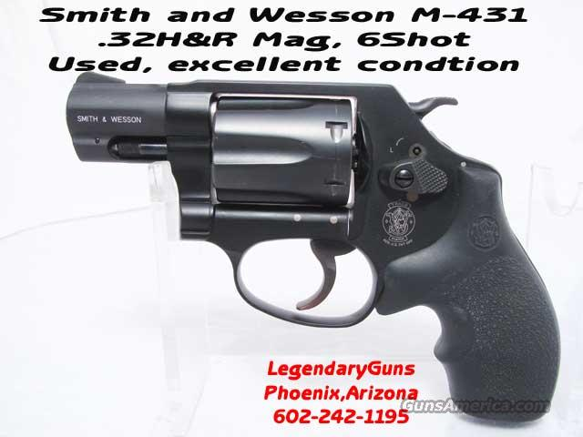 S&W M-431 32H&R J Frame 6shot  Guns > Pistols > Smith & Wesson Revolvers > Pocket Pistols