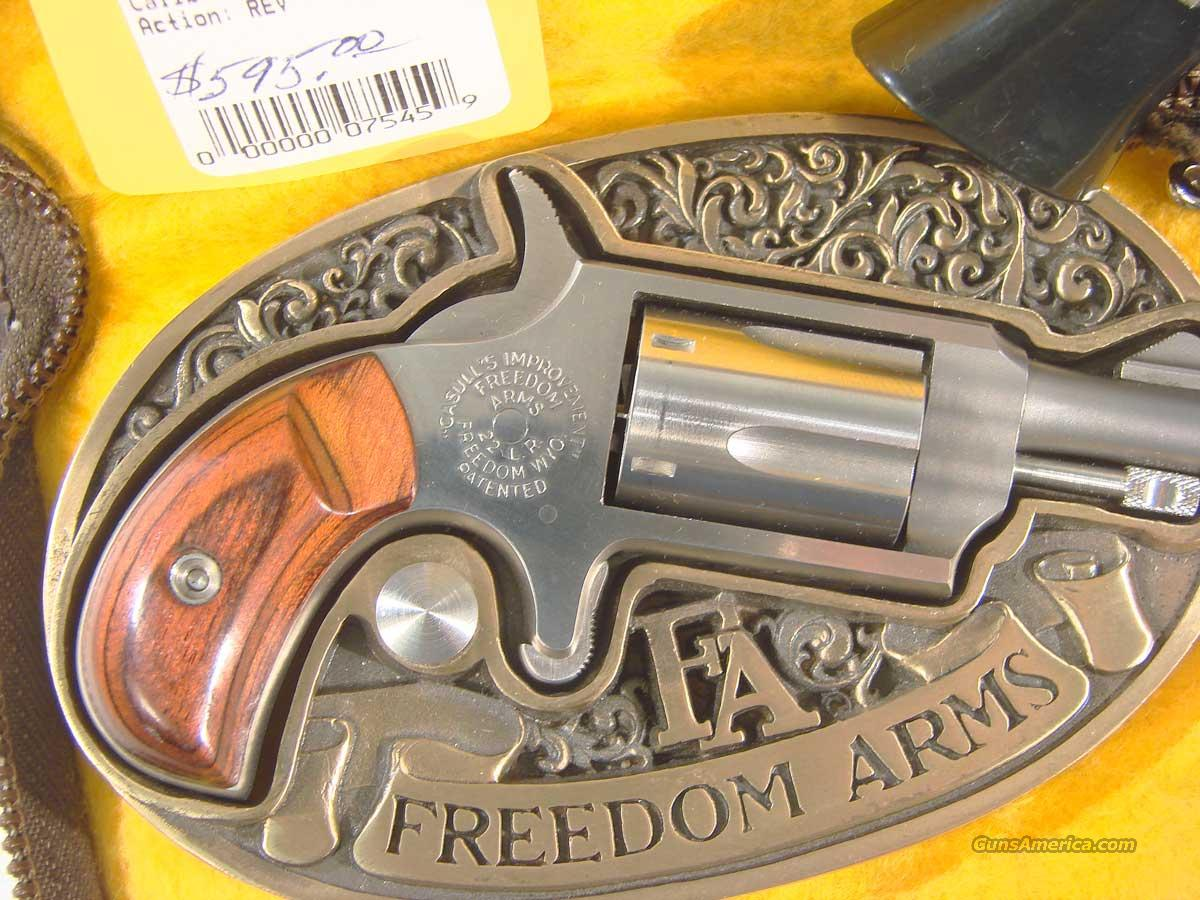 Freedom Arms Belt Buckle Mini Revolver  Guns > Pistols > Freedom Arms Pistols