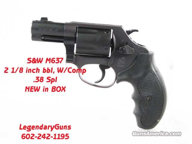 S&W M637 2 1/8 bbl with Comp  Guns > Pistols > Smith & Wesson Revolvers > Pocket Pistols