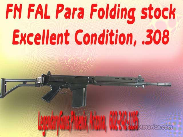 FN/FAl .308 ParaTrooper Folding stock  Guns > Rifles > FNH - Fabrique Nationale (FN) Rifles > Semi-auto > FAL Type