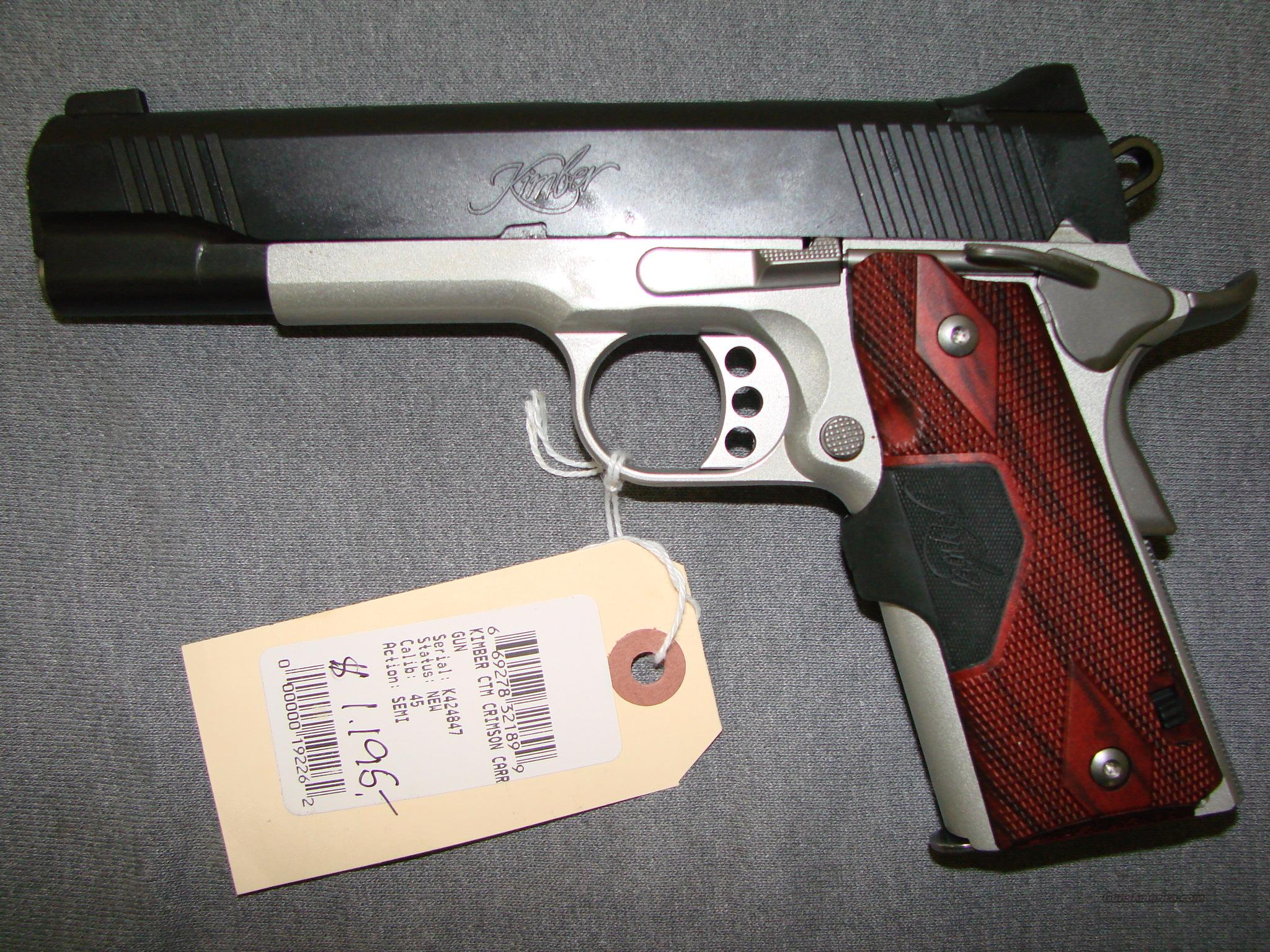 Kimber Crimson Carry II  Guns > Pistols > Kimber of America Pistols