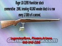 Ruger 10/22 Mannlicher stock  Guns > Rifles > Ruger Rifles > 10-22