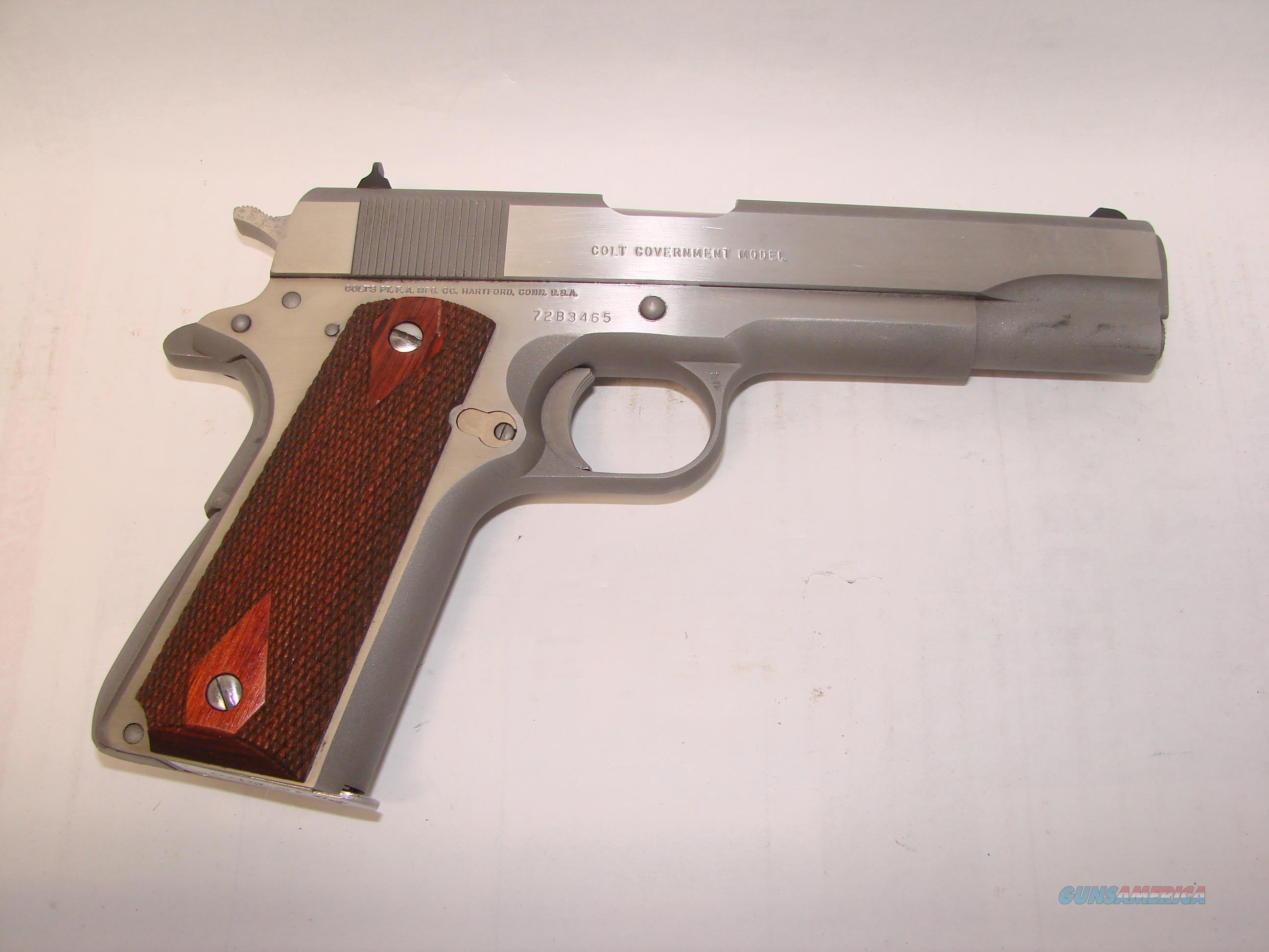 Colt 1911 Series 70  Guns > Pistols > Colt Automatic Pistols (1911 & Var)