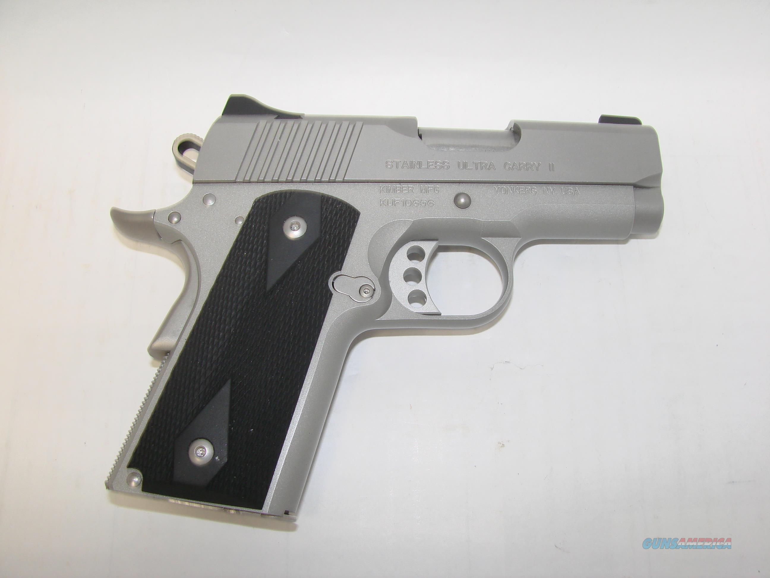 Kimber Ultra Carry II 9MM  Guns > Pistols > Kimber of America Pistols > 1911