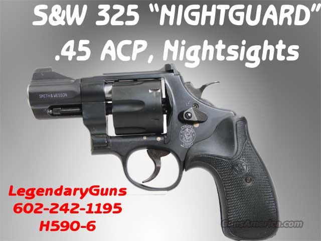 s w 325 nightguard 45 acp new in box for sale