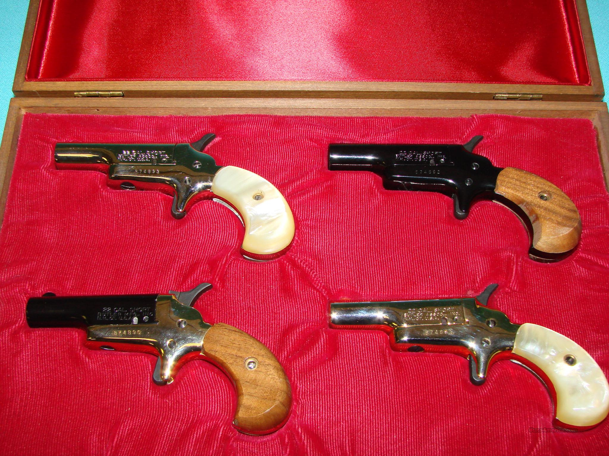 Butler Derringer Set of 4  Guns > Pistols > Derringer Modern