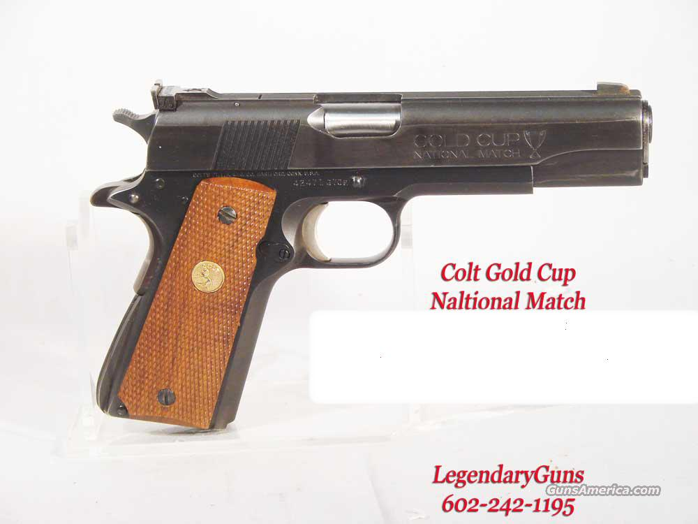 "Colt 1911 With ""Gold Cup Slide""  Guns > Pistols > Colt Automatic Pistols (1911 & Var)"
