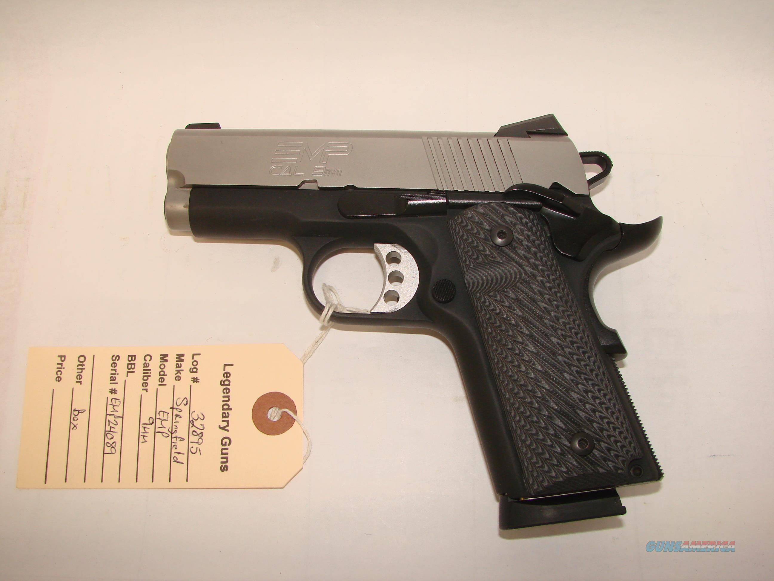 Springfield EMP 9mm  Guns > Pistols > Springfield Armory Pistols > 1911 Type