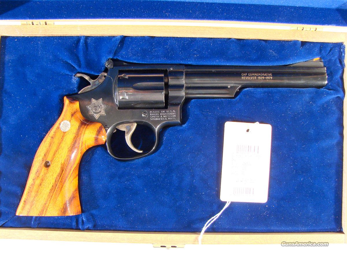 "S&W Model 19 6 inch Blue ""California Highway Patrol  Guns > Pistols > Smith & Wesson Revolvers > Full Frame Revolver"