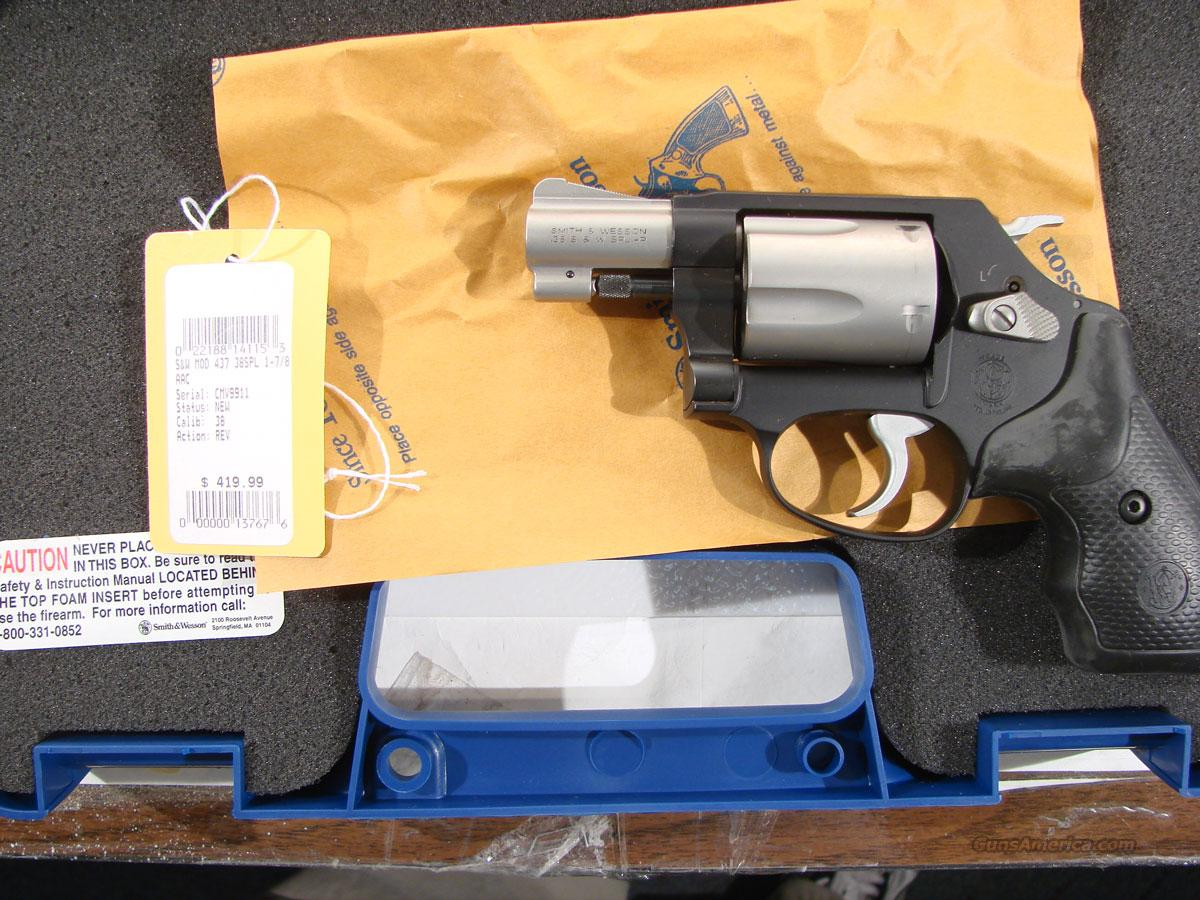 S&W Model 437  1 7/8th inch bbl. New in box  Guns > Pistols > Smith & Wesson Revolvers > Pocket Pistols