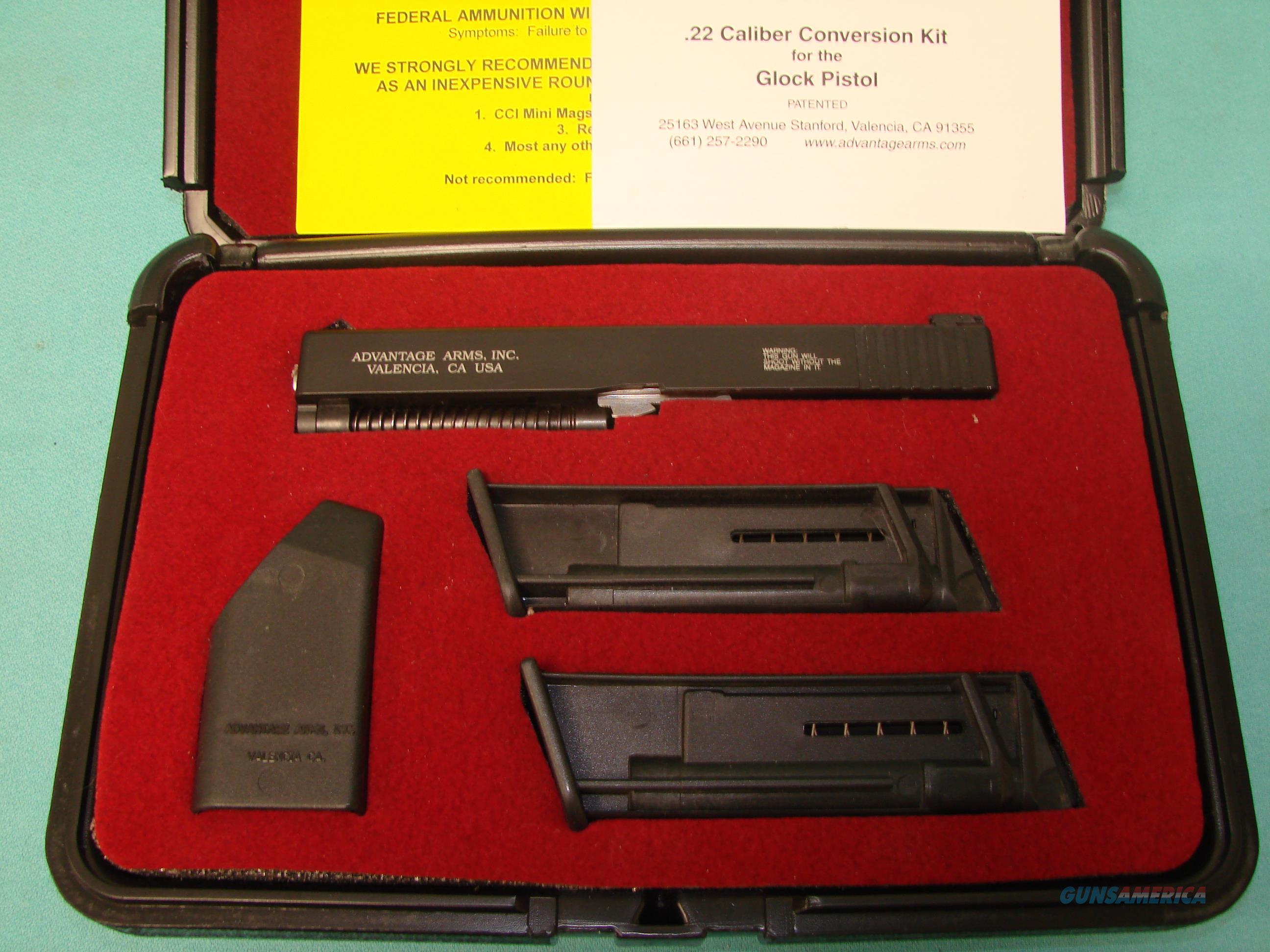 Advantage Arms Glock 17-22LR kit  Non-Guns > Miscellaneous