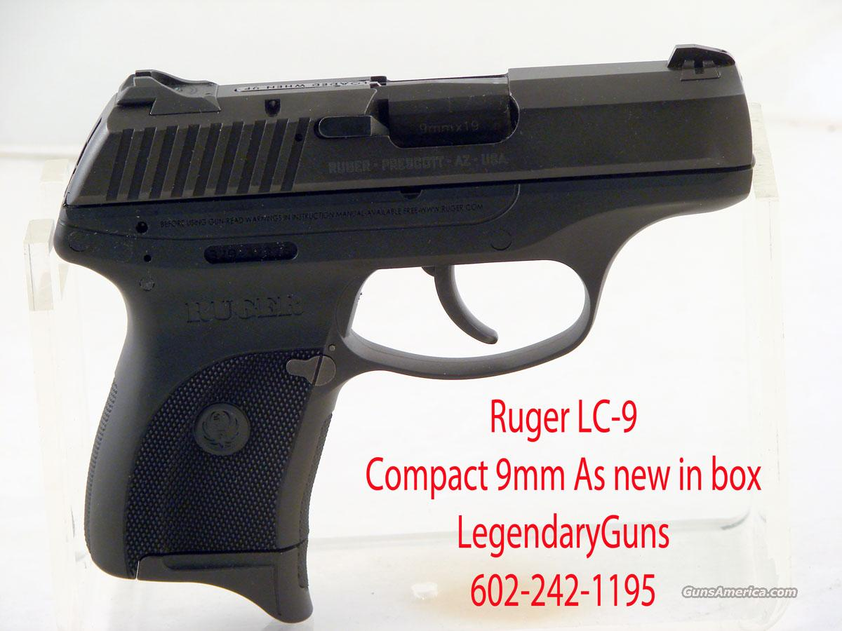 Ruger LC9 Single stack 9MM   Guns > Pistols > Ruger Semi-Auto Pistols > LC9