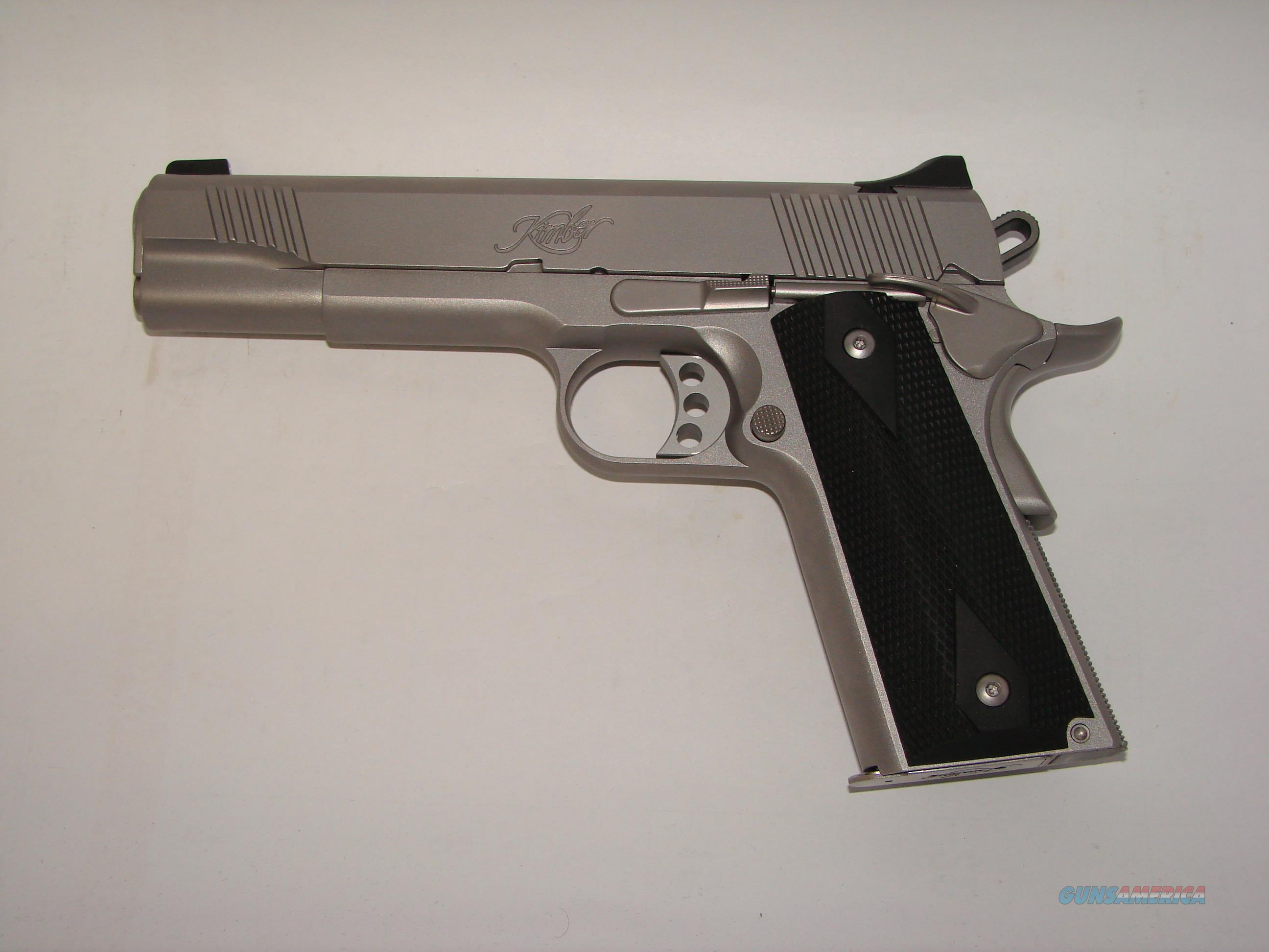 Kimber Stainless II Night Sights  Guns > Pistols > Kimber of America Pistols
