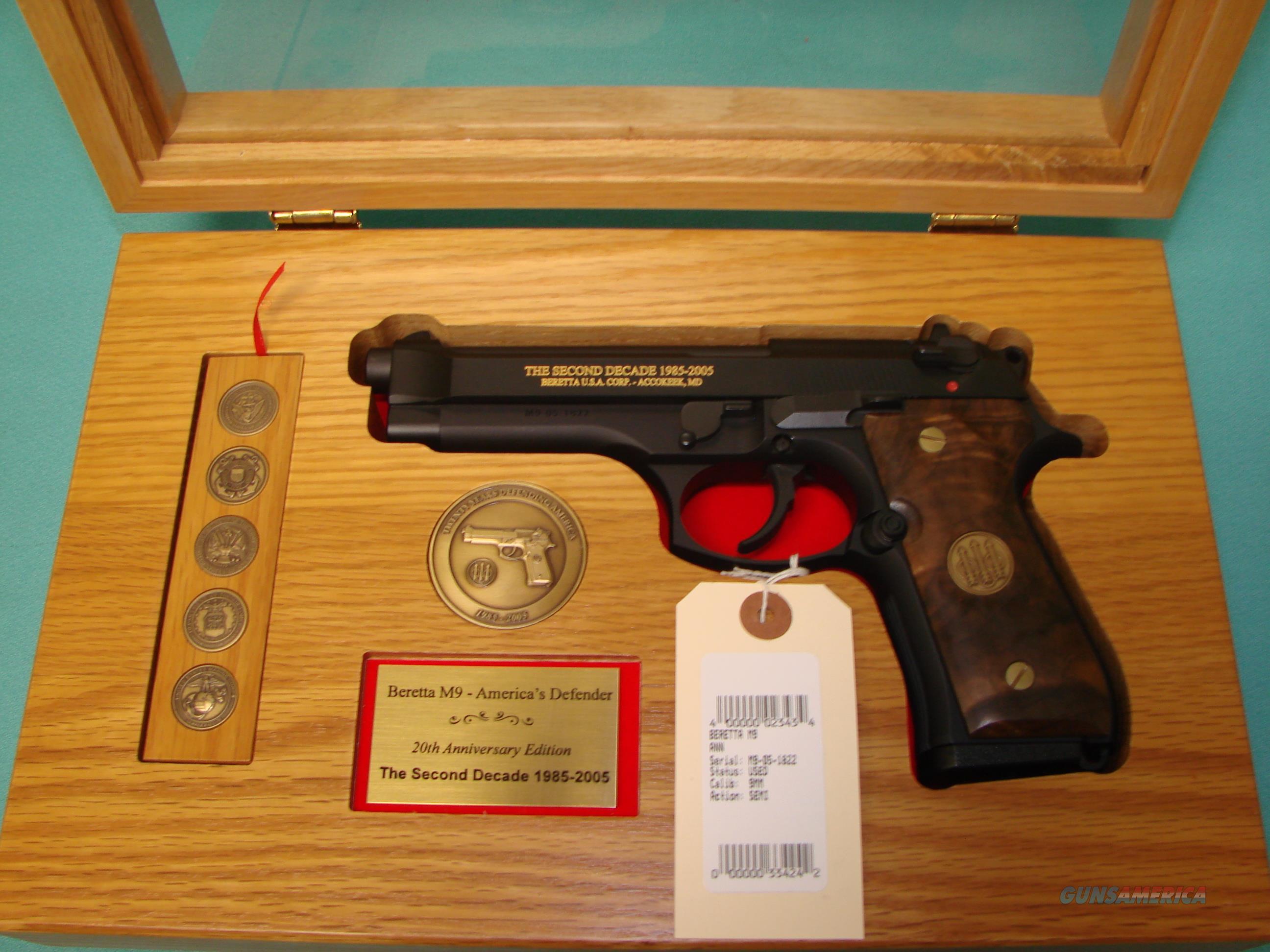 Beretta M9 2nd Decade  Guns > Pistols > Beretta Pistols > M9