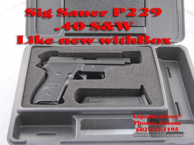 Sig P 229 40 S&W As new in box  Guns > Pistols > Sig - Sauer/Sigarms Pistols