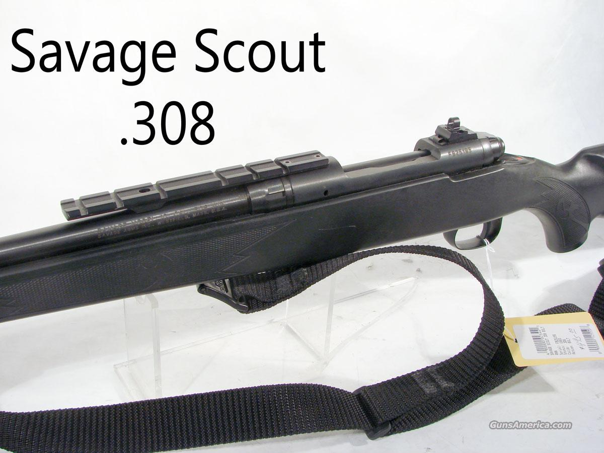 "Savage ""Scout"" 308  .  Guns > Rifles > Savage Rifles > Standard Bolt Action > Tactical"