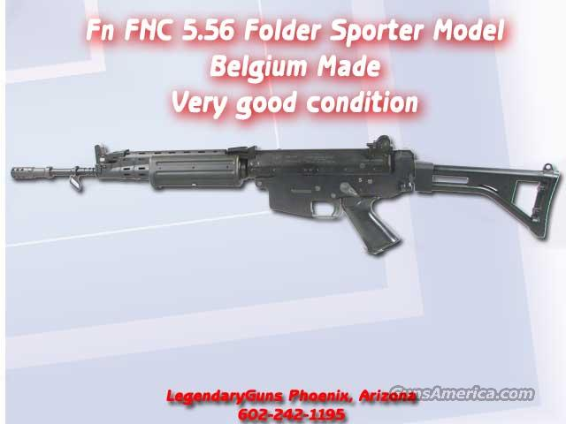 FN/FNC 5.56 Sporter Folding Stock  Guns > Rifles > FNH - Fabrique Nationale (FN) Rifles > Semi-auto > FAL Type