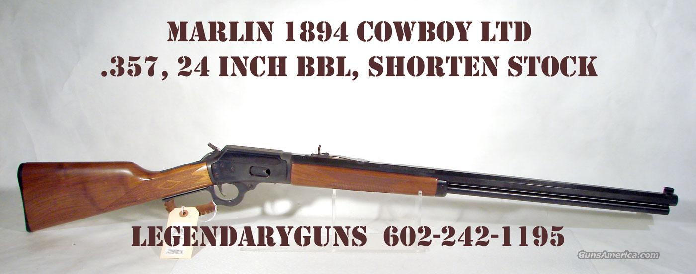 Marlin 1894 Cowboy LTD .357  Guns > Rifles > Marlin Rifles > Modern > Lever Action