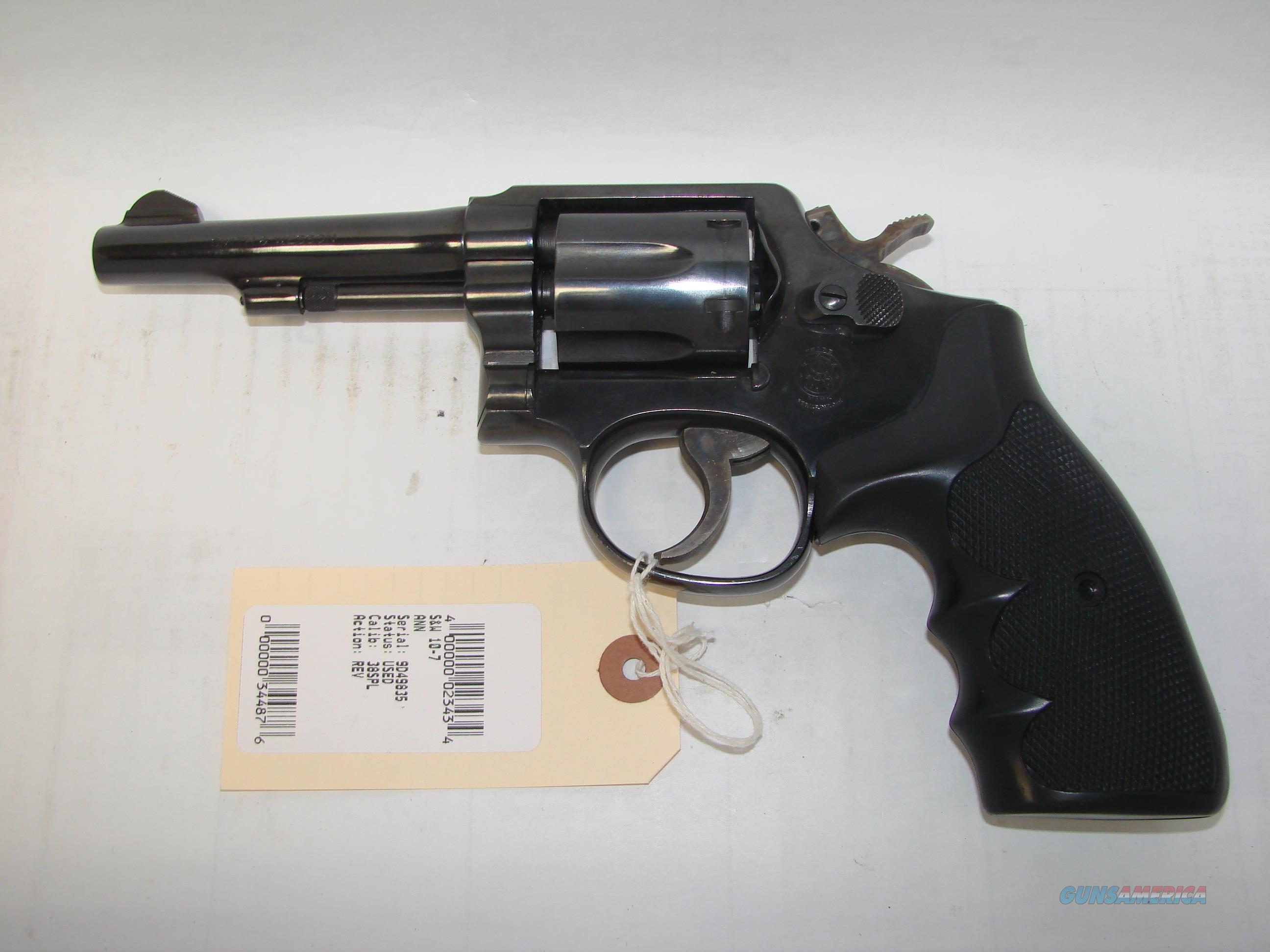 S&W 10-7  Guns > Pistols > Smith & Wesson Revolvers > Model 10