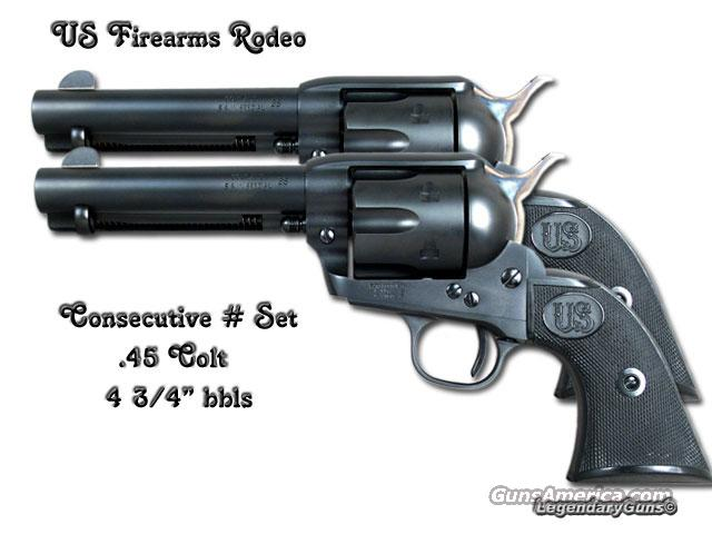 USFA  Rodeo .45 Colt Consecutive Set  Guns > Pistols > United Sporting Arms Revolvers
