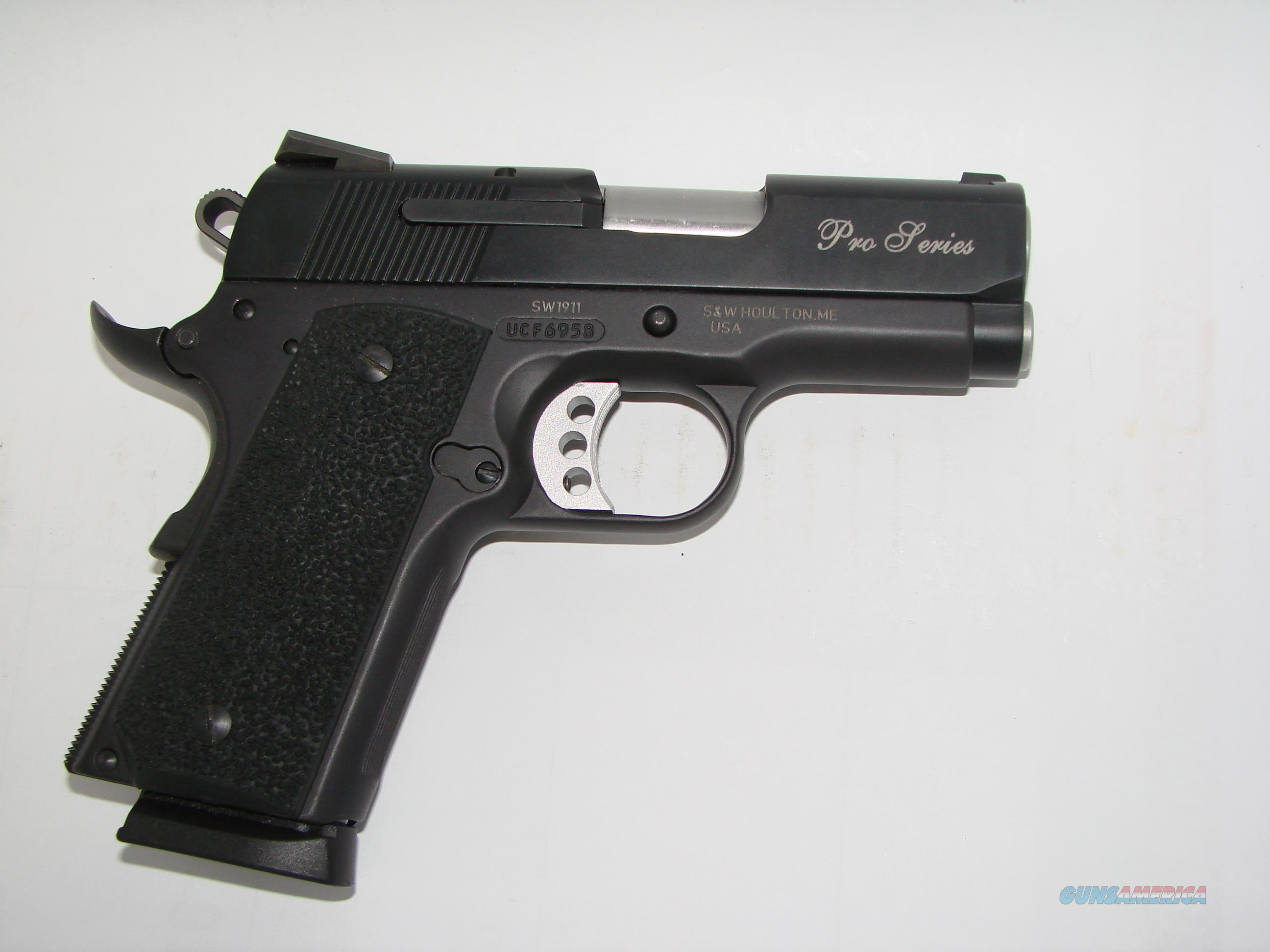 S&W 1911 Subcompact Pro  Guns > Pistols > Smith & Wesson Pistols - Autos > Steel Frame