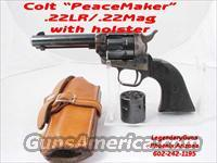 Colt SAA PeaceMaker .22/.22mag W/Holster  Guns > Pistols > Colt Single Action Revolvers - Modern (22 Cal.)