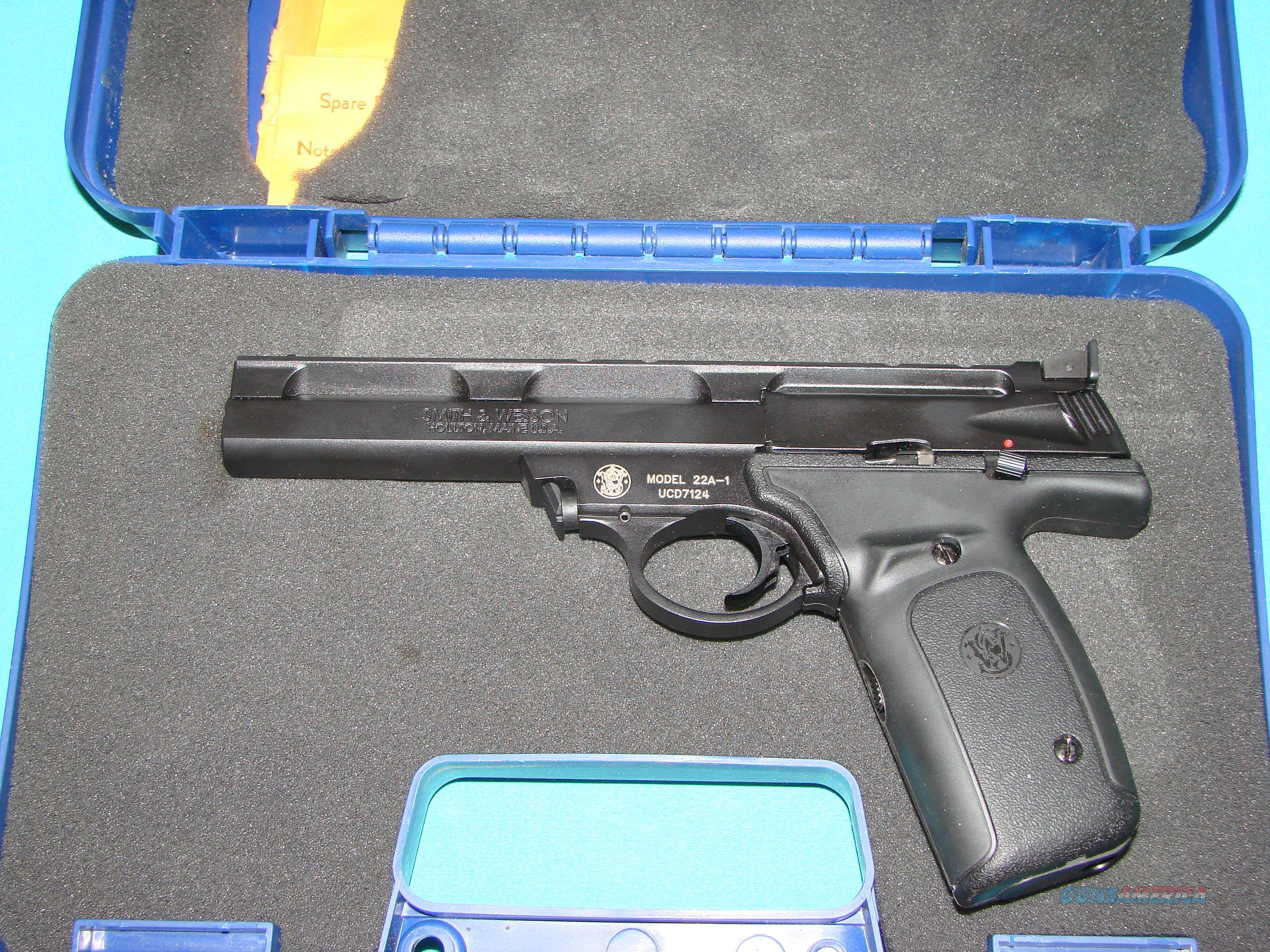S&W 22A-1  Guns > Pistols > Smith & Wesson Pistols - Autos > .22 Autos
