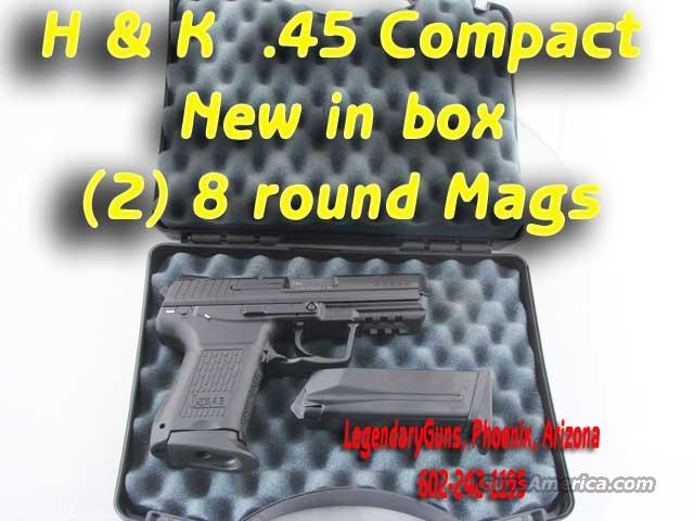 H&K .45 Compact  New in the box  Guns > Pistols > Heckler & Koch Pistols > Polymer Frame