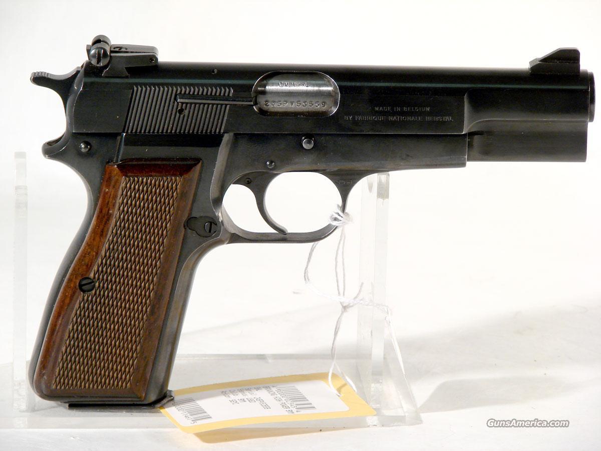 Browning hi power belgium built 9mm guns gt pistols gt browning