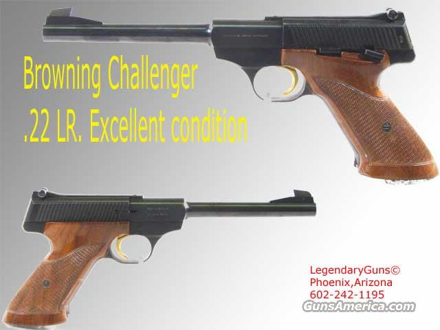 Browning Challenger .22lr  Guns > Pistols > Browning Pistols > Other Autos