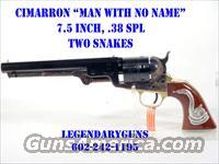 "Cimarron ""Man with No Name"" 7.5 inch bbl  Cimmaron Pistols"