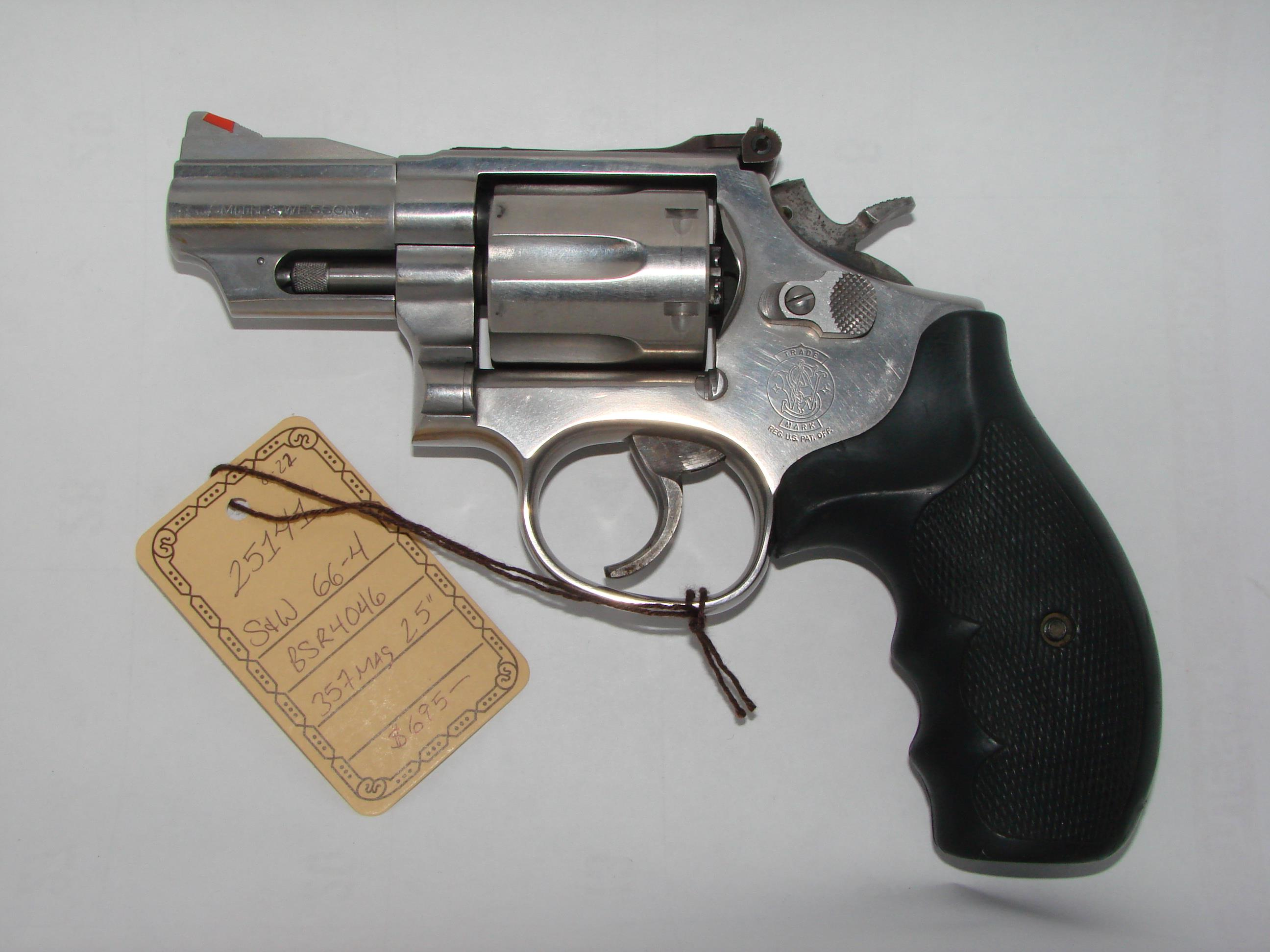 Smith & Wesson 66-4  Guns > Pistols > Smith & Wesson Revolvers > Full Frame Revolver