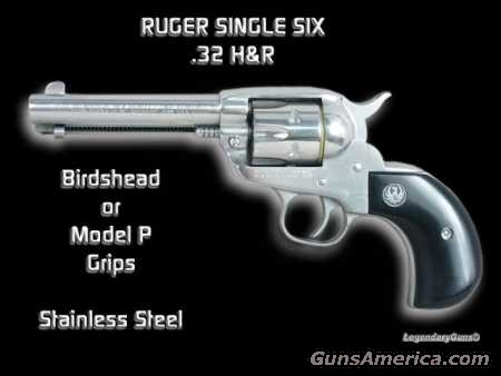 32 H&R Single Six SS  Guns > Pistols > Ruger Single Action Revolvers