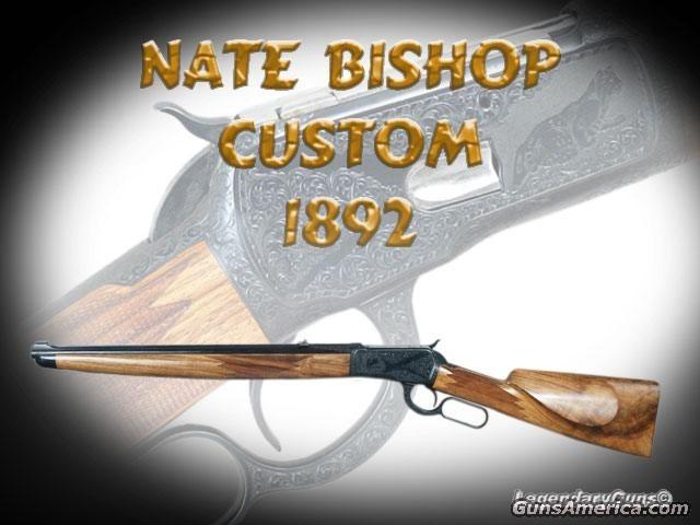 Nate Bishop 1892  Guns > Rifles > Custom Rifles