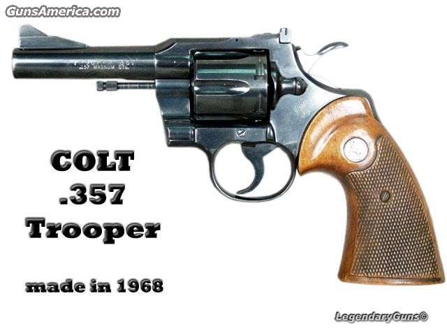 Trooper .357  Guns > Pistols > Colt Double Action Revolvers- Modern