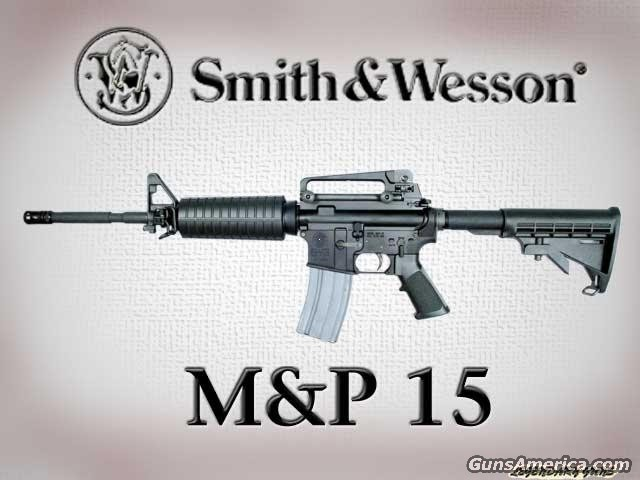 Military & Police 15  Guns > Rifles > Smith & Wesson Rifles