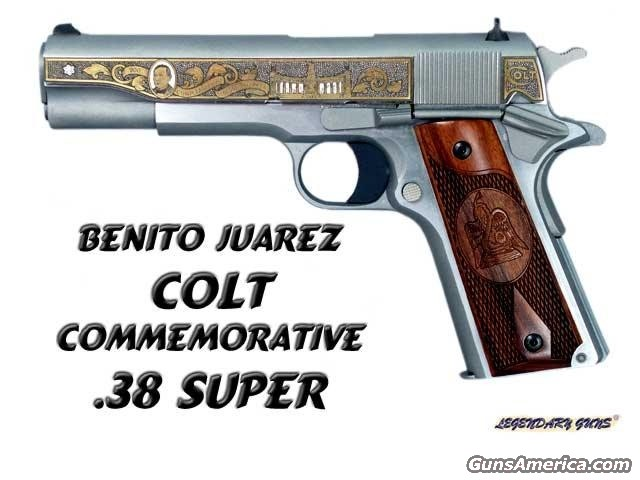 Benito Juarez 1911A1 38Super  Guns > Rifles > Colt Commemorative Rifles