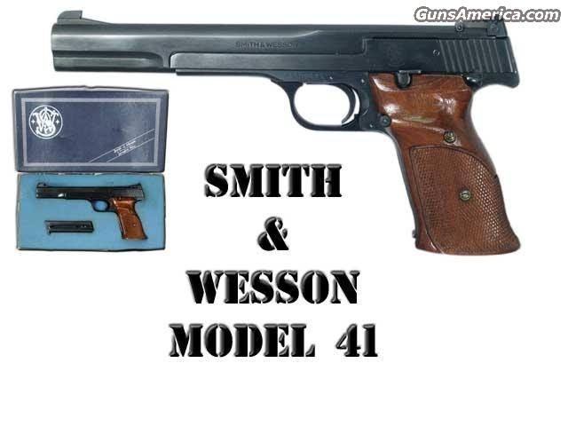 Model 41 7In  Guns > Pistols > Smith & Wesson Pistols - Autos