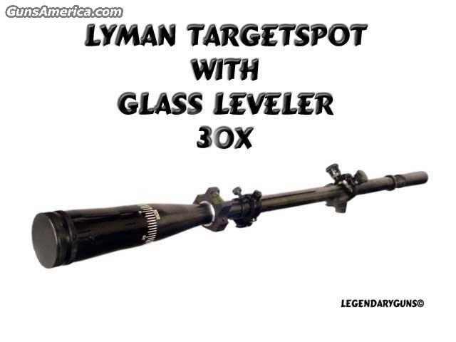 Lyman TargetSpot  Non-Guns > Scopes & Mounts