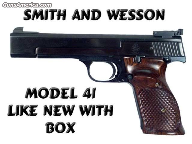 Model 41 with 2 BBLS  Guns > Pistols > Smith & Wesson Pistols - Autos