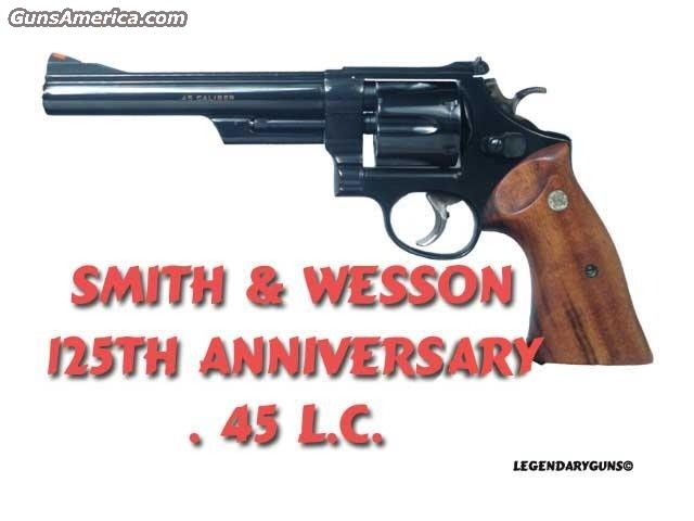 S&W 125th Anniversity Comm.  Guns > Pistols > Smith & Wesson Revolvers