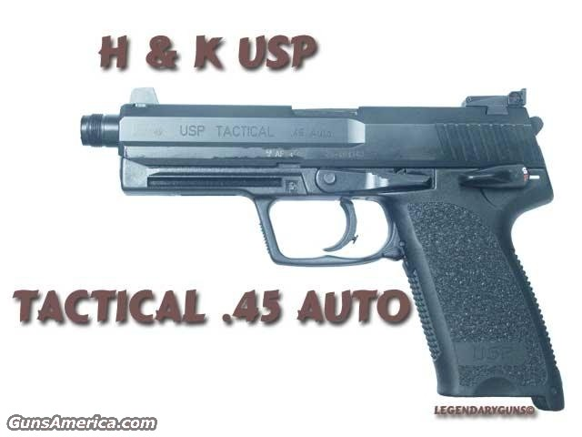H & K USP Tactical  Guns > Pistols > Heckler & Koch Pistols