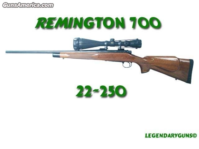Remington 22-250  Guns > Rifles > Remington Rifles - Modern