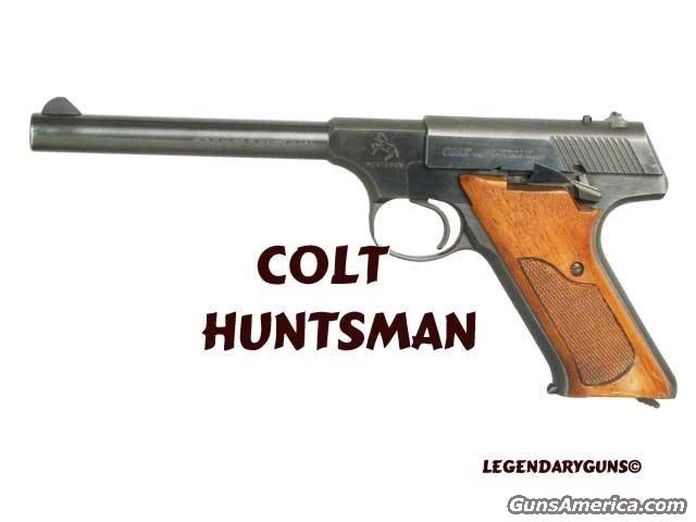 Colt Huntsman  Guns > Pistols > Colt Automatic Pistols (22 Cal.)