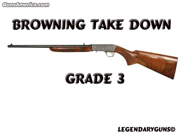 Briowning Take down Grade 3  Guns > Rifles > Browning Rifles