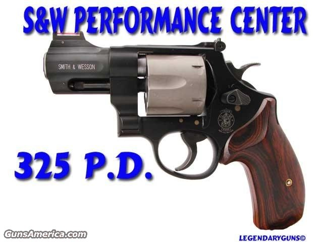 Performance Center 325PD  Guns > Pistols > Smith & Wesson Revolvers