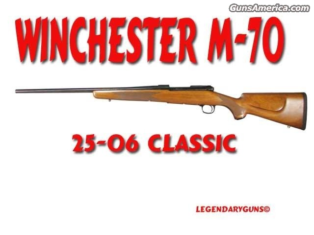 Winchester M-70  Guns > Rifles > Winchester Rifles - Modern Bolt/Auto/Single