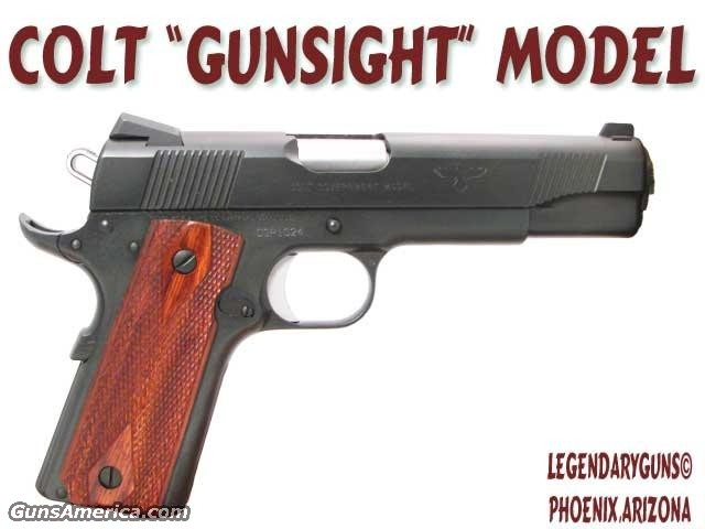 "Colt ""Gunsite""  Guns > Pistols > Colt Automatic Pistols (1911 & Var)"