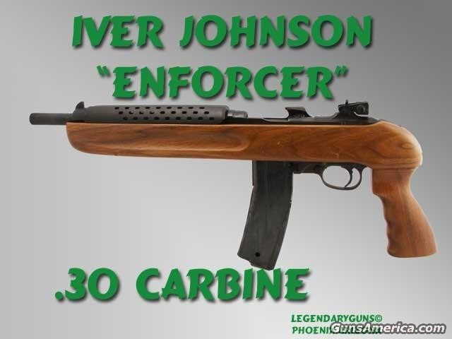 "Iver Johnson ""Enforcer""  Guns > Pistols > Iver Johnson Pistols"