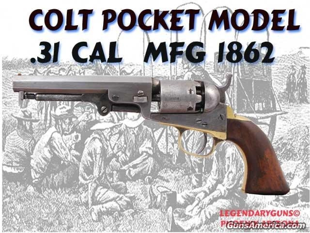 Colt Model 1849  Guns > Pistols > Colt Percussion Revolver - Pre-1899